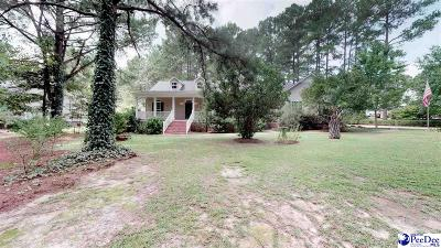 Hartsville Single Family Home For Sale: 924 Hillcrest Road
