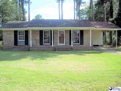 Dillon County Single Family Home For Sale: 608 McLean Drive