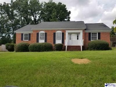 Florence County Single Family Home For Sale: 504 Holly Circle