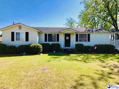 Timmonsville Single Family Home For Sale: 3509 Peniel Road