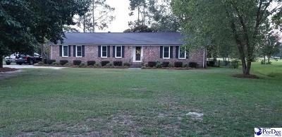 Florence Single Family Home Uc/Show For Back Up: 3822 Pine Needles Rd.