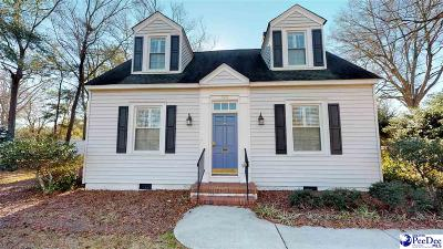 Hartsville Single Family Home For Sale: 545 W Home Ave