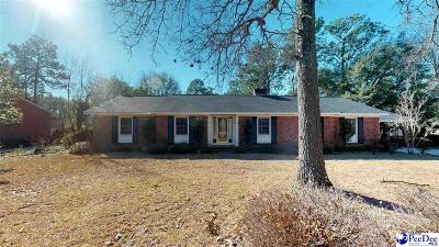 Hartsville Single Family Home For Sale: 609 Lyndale Drive