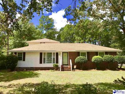 Darlington County Single Family Home Uc/Show For Back Up: 522 Haven Drive