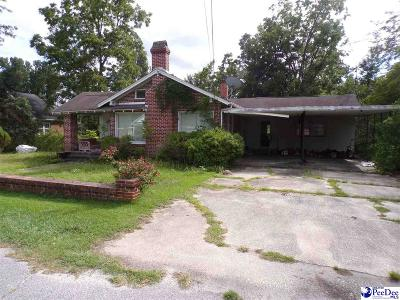 Florence County Single Family Home For Sale: 415 E Moore St.