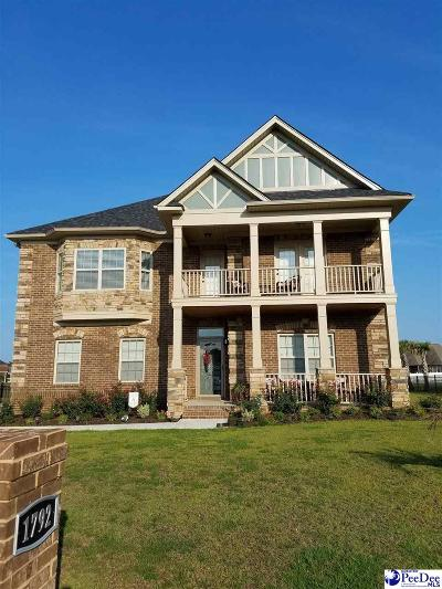 Florence County Single Family Home For Sale: 1792 Lake Wateree
