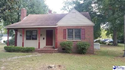 Hartsville Single Family Home Uc/Show For Back Up: 117 Gandy Drive