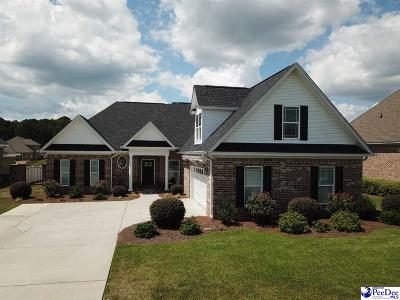 Florence County Single Family Home Uc/Show For Back Up: 729 Lindsey Drive