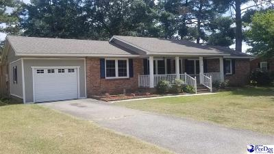 Hartsville Single Family Home Uc/Show For Back Up: 713 Dunlap Drive