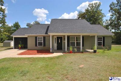 Hartsville Single Family Home Under Contingency Cont: 1761 Shaw Drive