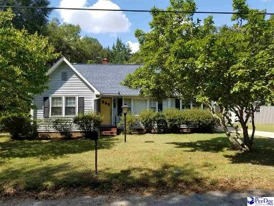 Hartsville Single Family Home Uc/Show For Back Up: 208 Lamar Street