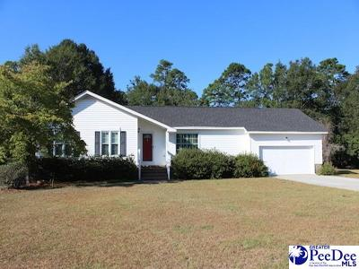 Hartsville Single Family Home Uc/Show For Back Up: 1206 Ramblewood