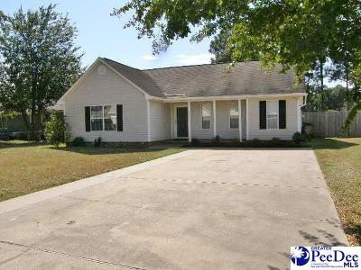 Florence Single Family Home For Sale: 2413 Glenns Park Rd