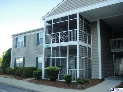 Florence County Condo/Townhouse For Sale: 1543 Bridgewood Unit F-6