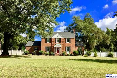 Florence County Single Family Home For Sale: 321 N Pamplico Highway