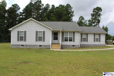 Marion SC Single Family Home For Sale: $120,000