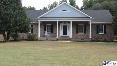 Florence SC Single Family Home Uc/Show For Back Up: $174,900