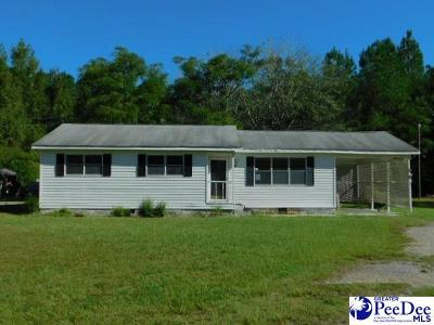 Timmonsville Single Family Home Active-Price Change: 2329 E Lynches River Rd