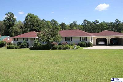 Hartsville Single Family Home For Sale: 1111 Ruby Road