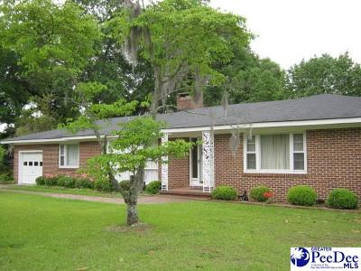Darlington County Single Family Home Uc/Show For Back Up: 104 Evangeline Drive