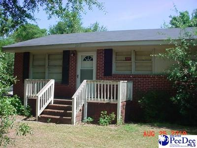 Darlington County Single Family Home For Sale: 2413 Northcutt Rd.
