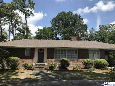 Hartsville Single Family Home Uc/Show For Back Up: 130 Lakeview Blvd