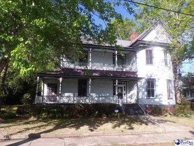 Timmonsville SC Single Family Home For Sale: $99,900