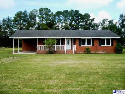 Timmonsville Single Family Home For Sale: 3435 Olanta Hwy