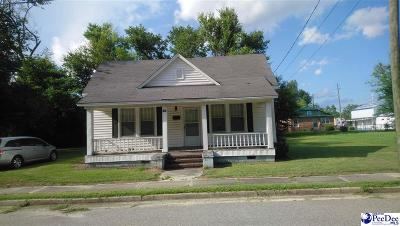 Marion SC Single Family Home For Sale: $50,000