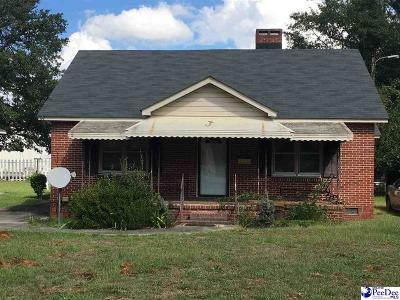 Hartsville Single Family Home For Sale: 733 S 6th Street