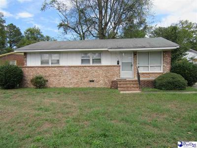 Darlington Single Family Home Uc/Show For Back Up: 102 Virgil Wells Circle