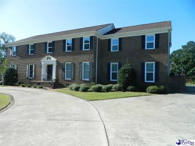 Florence Single Family Home For Sale: 2534 W Edgefield Road