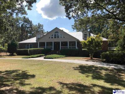 Hartsville Single Family Home Uc/Show For Back Up: 1633 W Old Camden