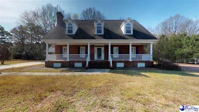 Hartsville Single Family Home For Sale: 1315 Sedgefield Road