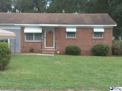 Mullins Single Family Home Uc/Show For Back Up: 1006 Park St Ext