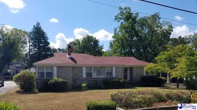 Bennettsville SC Single Family Home For Sale: $125,000