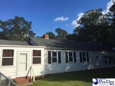 Hartsville Single Family Home For Sale: 301 Emmary Street