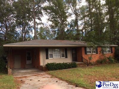 Hartsville Single Family Home For Sale: 1603 Willis Drive