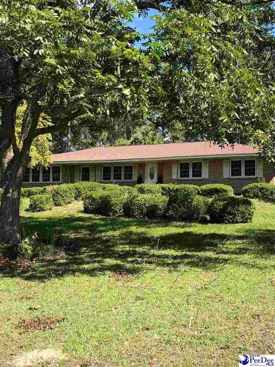 Hartsville Single Family Home Uc/Show For Back Up: 1327 New Market Road
