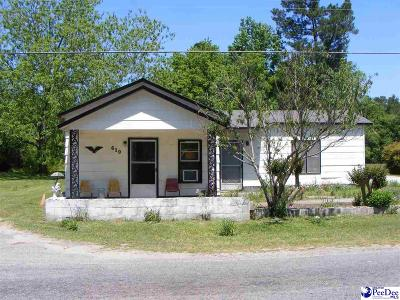 Lake City SC Single Family Home For Sale: $29,900