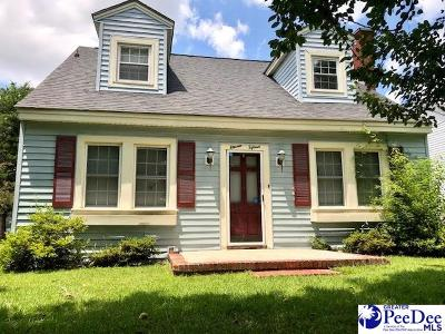 Florence Single Family Home Uc/Show For Back Up: 1115 W King Avenue