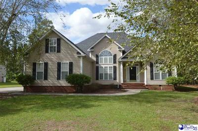 Hartsville SC Single Family Home For Sale: $269,000