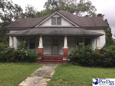 Hartsville Single Family Home For Sale: 406 S 6th St