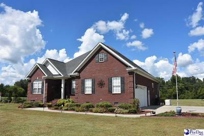 Timmonsville Single Family Home For Sale: 915 Half Mile Lane