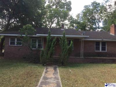 Lake City SC Single Family Home For Sale: $60,000