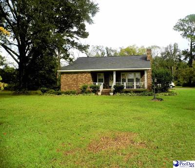Dillon SC Single Family Home For Sale: $136,500