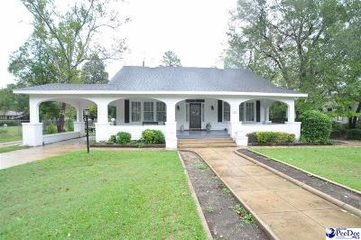 Bennettsville Single Family Home For Sale: 125 South Cook Street