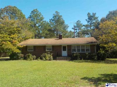Bennettsville Single Family Home For Sale: 606 Jefferson Street