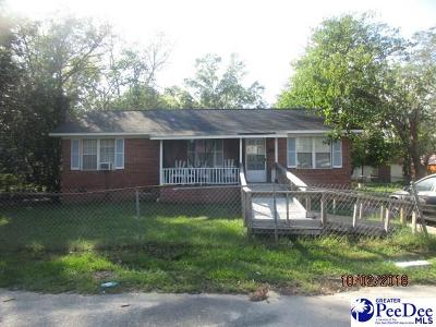 Marion SC Single Family Home For Sale: $44,900