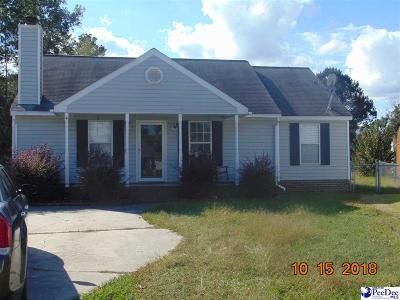 Florence SC Single Family Home For Sale: $100,000